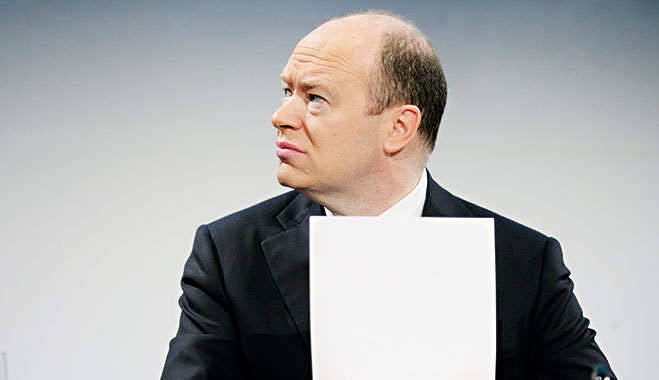 Deutsche Bank co-CEO John Cryan. The former UBS banker took over from Anshu Jain as co-chief executive of Deutsche on July 1