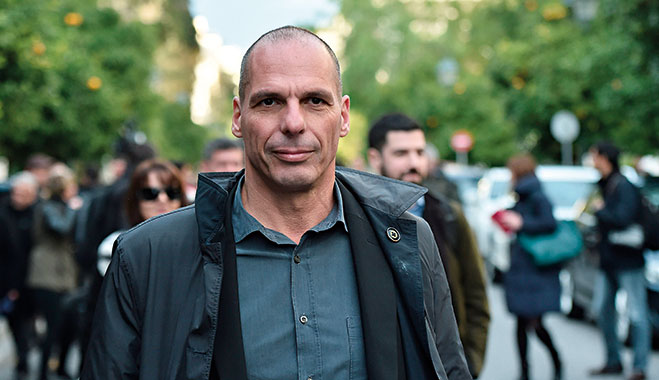 Former Greek Minister of Finance Yanis Varoufakis. The man has become one of the most fascinating political figures of recent times, despite only holding his position for a few months