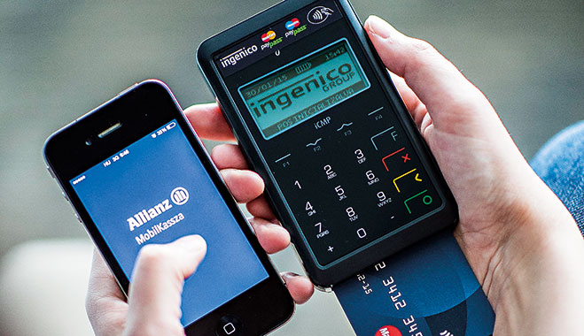 Allianz has updated its consumer facing website to coincide with mobile devices, enabling easy payment options