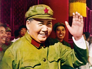 Chairman Mao of the Central Committee of the Communist Part of China, who governed the country from 1949 until his death in 1976. His policies did little to enhance China's economy