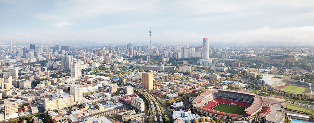 Johannesburg, South Africa. Sub-Saharan Africa has greatly eased its business regulations, making it easier for international firms to trade in the region