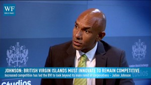 Johnson: British Virgin Islands must innovate to remain competitive