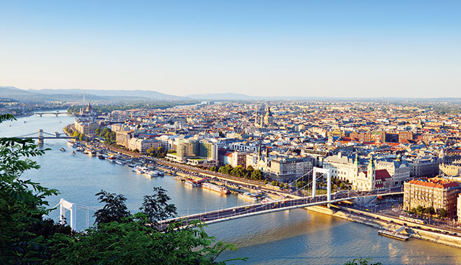 A view of Hungary, Budapest. The insurance market in the country is changing greatly