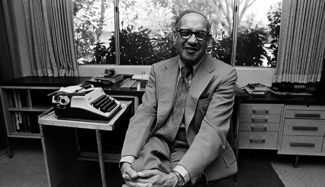 Peter Drucker - who was of Jewish descent - lived in Germany for some time, but fled after he personally interviewed Hitler and discovered that the Nazis would be targeting Jews