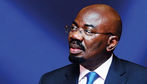 Zenith Bank's Chairman, Jim Ovia. The institution has done much to promote Nigeria's economic growth
