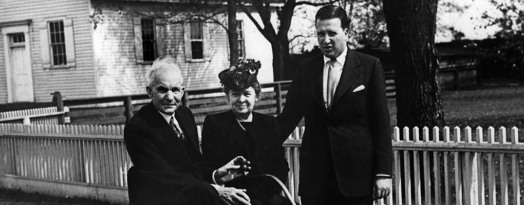 Henry Ford, his wife Clara and their grandson. The Ford family has become one of the most successful in the world when it comes to business prowess
