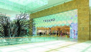 Chalboub's new speciality store, Tryano, is based in Abu Dhabi's luxury Yas Mall. The luxury goods market has enjoyed impressive growth over the last decade