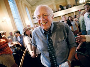 US Senator Bernie Sanders is one of few politicians willing to publicly speak on the matter of inequality levels