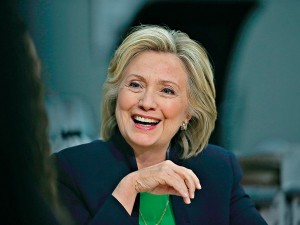 Democratic Candidate Hillary Clinton, who is largely opposed to the gig economy