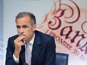 Governor of the Bank of England, Mark Carney, who is opposed to the People's QE proposal