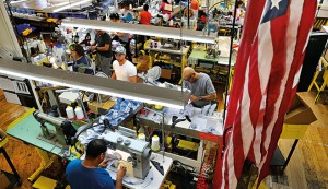 A manufacturing factory in Lawrence, US. The US was once one of the world's foremost manufacturing powers