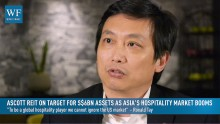 Ascott Residence Trust Management CEO Ronald Tay says new acquisitions and hot growth in Asia will see Ascott meet its target