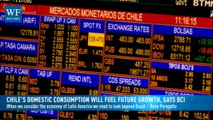 Chile's domestic consumption will fuel future growth, says BCI