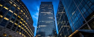 Canary Wharf, London. According to a new study, worryingly few retail investors are studying the fund information that is sent to them