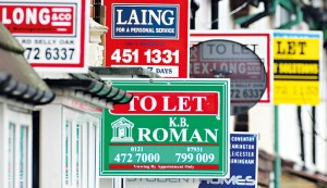 Properties up for sale and for let in Birmingham, UK. A recent surge in online property companies could render the high street estate agent obselete