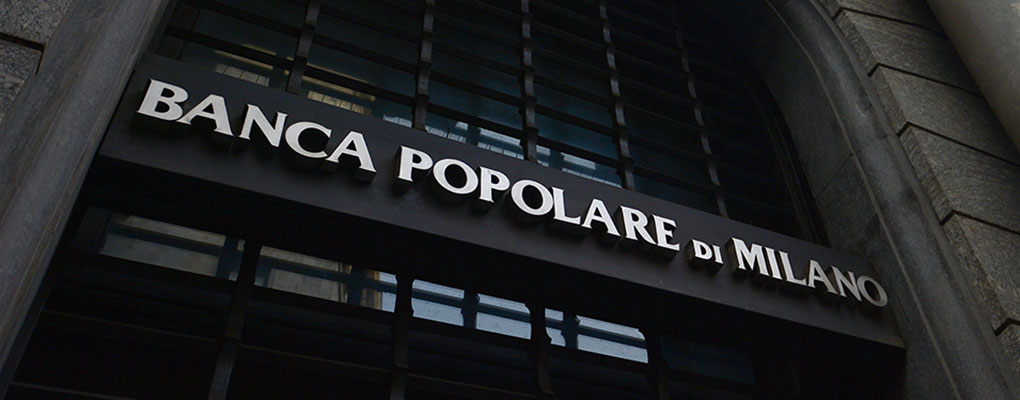 Italys Banco Popolare To Merge With Bpm World Finance