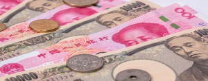 Japanese and Chinese currency. Despite negative yields, Japan has managed to sell its 10-year bonds