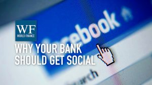 How can banks use social media to get more customers?