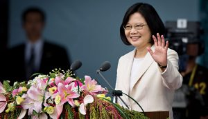 The Republic of China's 14th and recently elected President, Tsai Ing-wen
