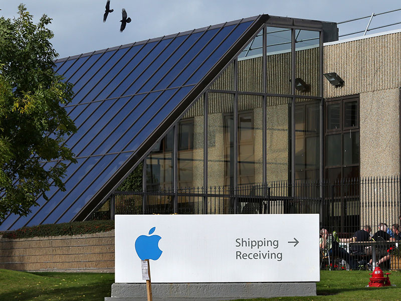 Apple's campus in Cork, Ireland. The European Commission has been investigating Apple's corporate tax payments in Ireland - a move that has now been criticised by the US Treasury Department