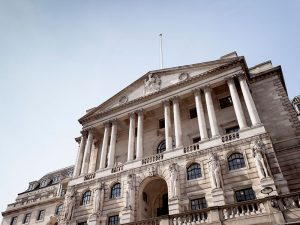 The Bank of England has cut interest rates to historic lows due to the slowdown of the UK's economy