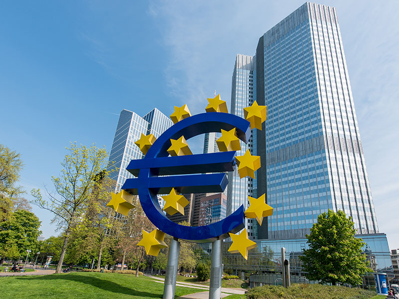 The European Central Bank in Frankfurt, Germany. The German economy has remained strong in spite of the recent Brexit vote that shocked global markets