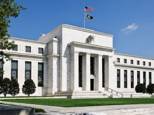 The US Federal Reserve Building in Washington DC. The Fed has declined to raise interest rates due to concerns over low inflation