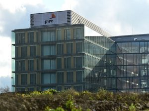 The PwC building in Luxembourg. The auditing company has been taken to court for $5.5bn for failing to spot a billion-dollar scam that contributed to the collapse of Colonial Bank