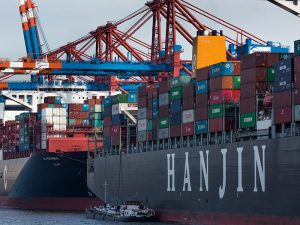 Hanjin Shipping, South Korea's biggest shipping company, filed for bankruptcy protection in August