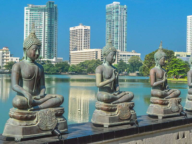 Beira Lake in Colombo, Sri Lanka. The Sri Lankan insurance industry must adapt to suit the needs of its growing client base