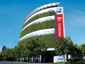 Consorcio Seguros' headquarters. Chile's insurance sector is competitive, but Consorcio Seguros has pulled away from the pack