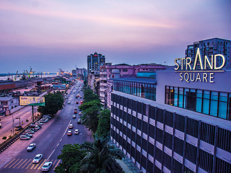 Yangon, Myanmar. Domestic and international insurers have flocked to Myanmar in recent years, opening up the industry to further development