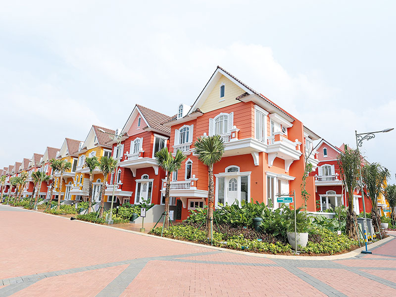 Omaha Village, part of Paramount Enterprise's Gading Serpong township