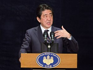 Abe has focused on boosting Japan's sluggish economy during his time as prime minister