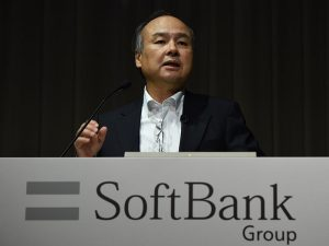 Masayoshi Son, Chairman and CEO of SoftBank. The Japanese technology giant has announced a partnership with Saudi Arabia's Public Investment Fund
