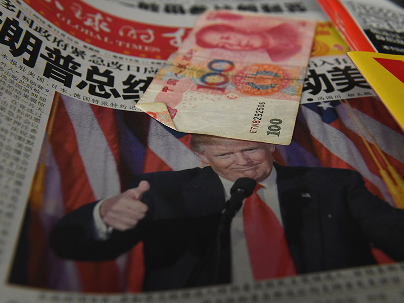The Chinese renminbi has fallen to 6.8729 against the US dollar, marking its lowest point in eight years