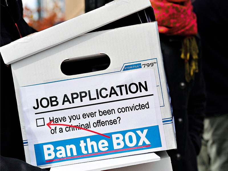Despite having good intentions, the campaign to 'Ban the Box' on employee application forms is having an adverse effect