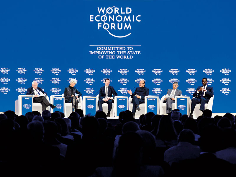 World leaders have a mountain to climb at Davos