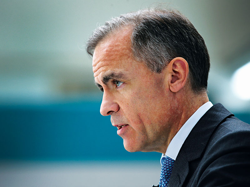 A marked man, Carney set for BoE departure