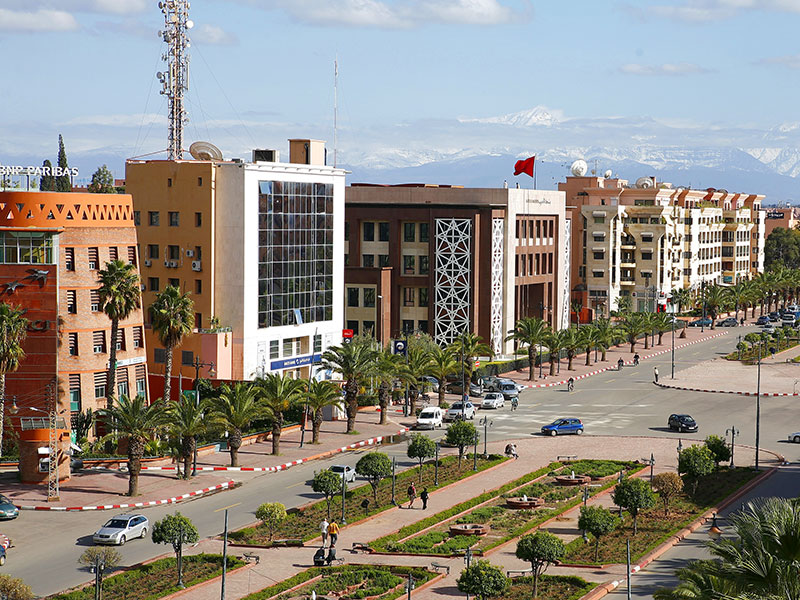 Marrakech, Morocco. Five banks in Morocco have been granted permission by the central bank to offer Islamic banking services and products