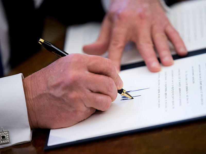 Donald Trump has already signed a number of executive orders