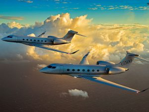 Gulfstream G500 and G600 private aircraft