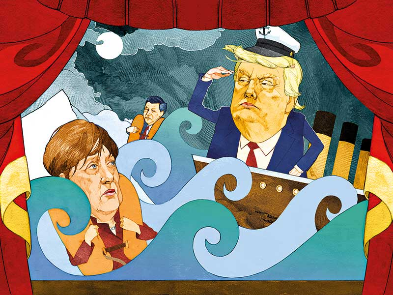 Adrift in Trump's new century