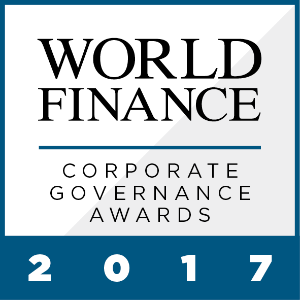 Excellent corporate governance is increasingly important, and has come to be expected by investors, stakeholders and the public alike. The World Finance Corporate Governance Awards 2017 celebrate those companies setting new standards worldwide