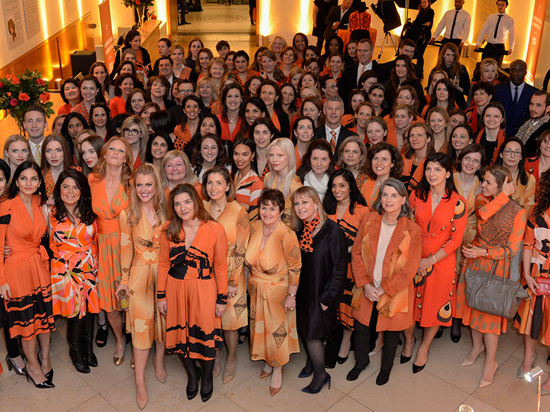 Attendees at the United Nations Trust Women United Dinner, supported by Goldman Sachs; one of the most female-friendly financial institutions