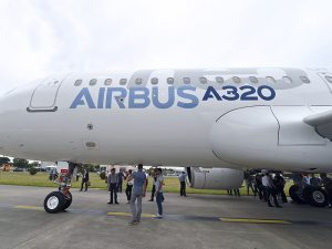 An Airbus A320 aircraft. The aviation giant has commissioned an independent review panel as part of an initiative to overhaul company compliance procedures
