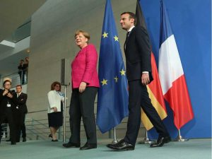 "Franco-German conference sets the tone for the ""historic reconstruction"" of Europe"