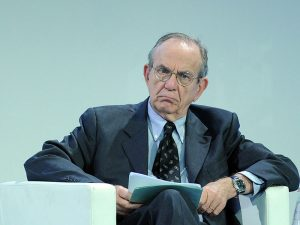 Pier Carlo Padoan, Minister of Economy and Finance of Italy. The Italian Government has announced it will provide up to €17bn to support the market exit of two failing banks