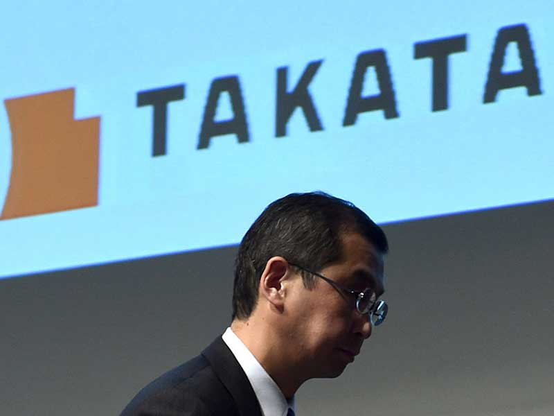 Takata agrees to sell majority of assets to KSS following bankruptcy