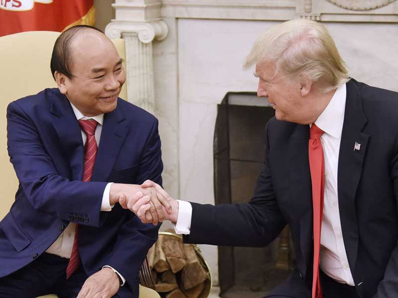 Vietnam secures $8bn deal with US companies as new trade agreement